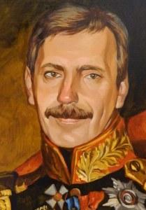 Исторический портрет маслом в Челябинске