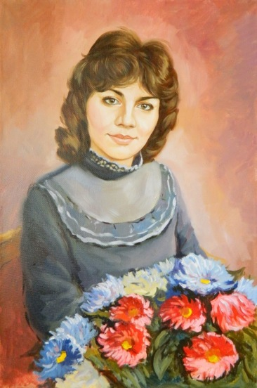 Пишем живые портреты маслом в Челябинске!