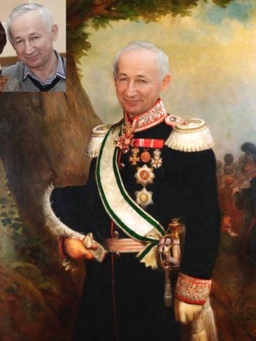 Где заказать исторический портрет по фото на холсте в Челябинске?