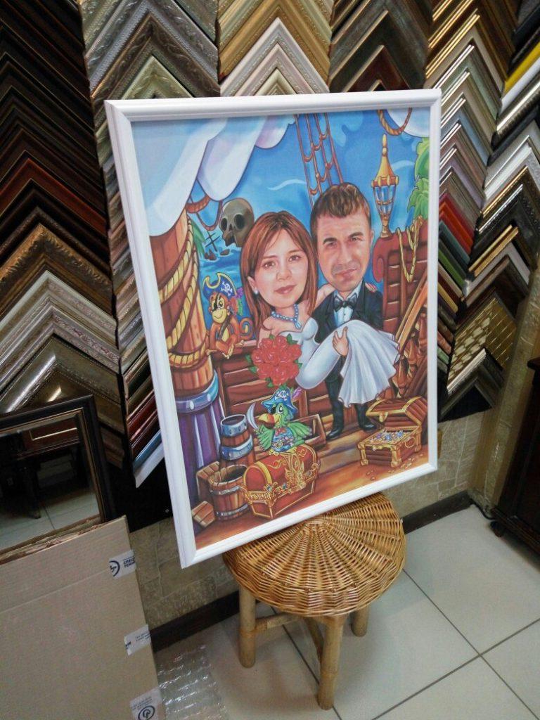 портрет шарж на заказ в челябинске