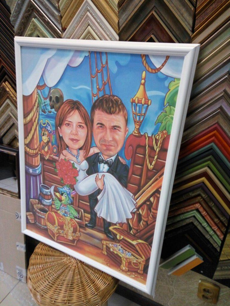 шарж по фото на заказ в челябинске