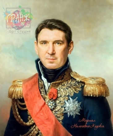 Портрет по фото на холсте в подарок мужчине на 23 февраля Челябинск