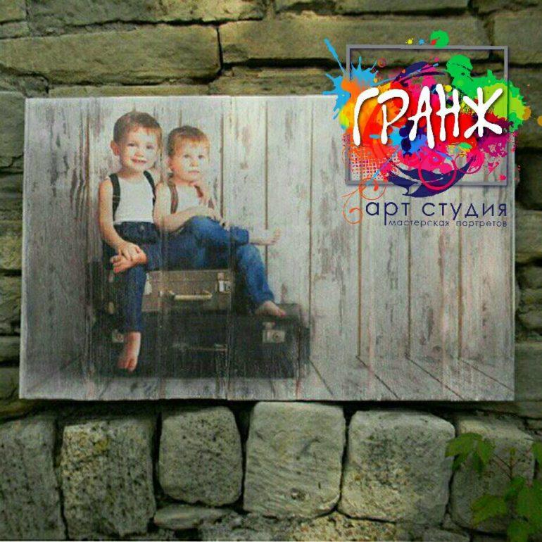 Картины на досках и портреты на дереве в стиле лофт на заказ купить Челябинск