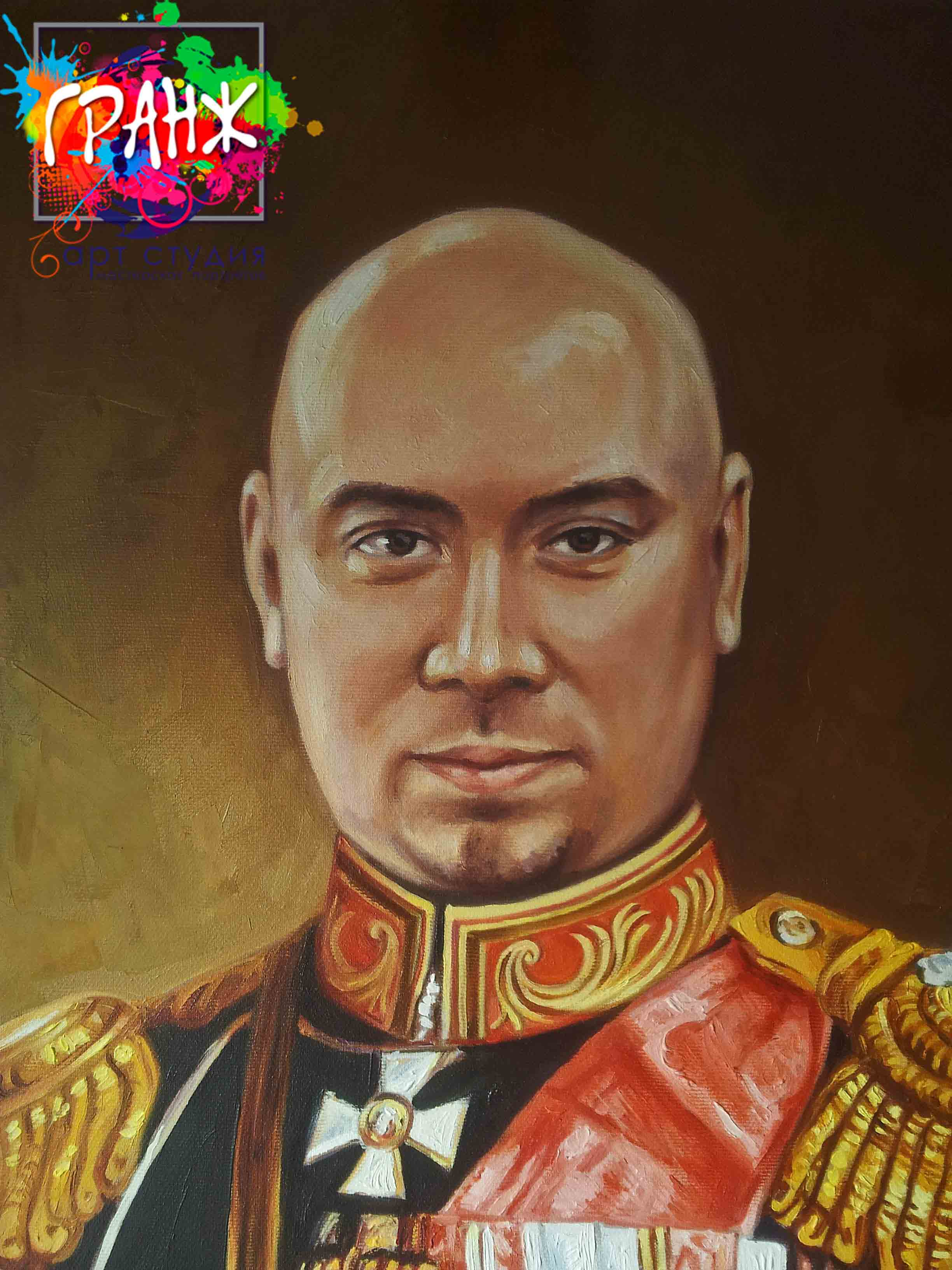 Заказать портрет маслом по фотографии в Челябинске
